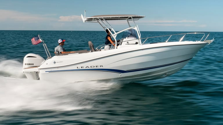 New Boat: Jeanneau Leader 7.5 Center Console