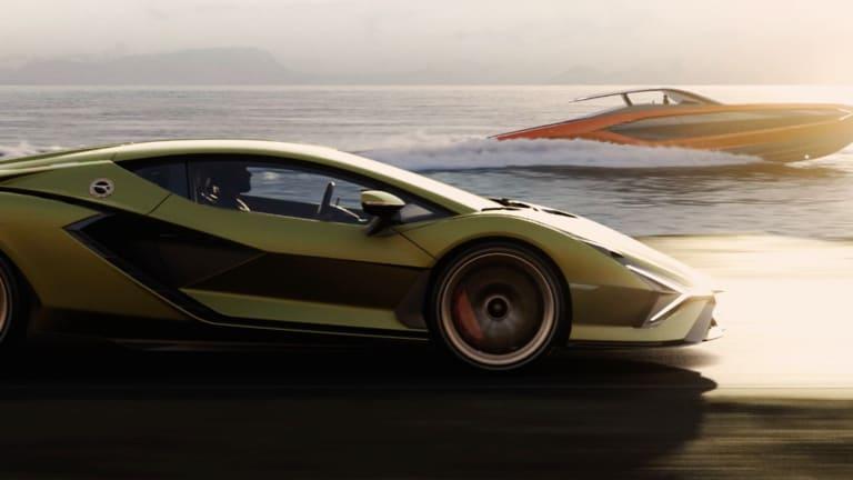 Lamborghini's 63-Foot Speedster