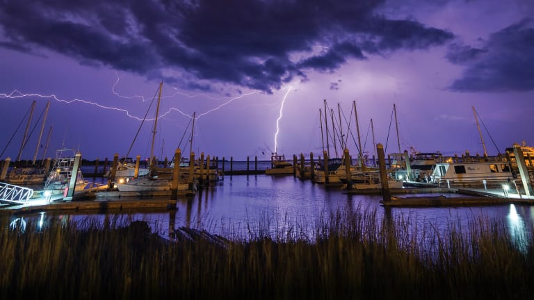 How to Protect Your Boat From a Lightning Strike