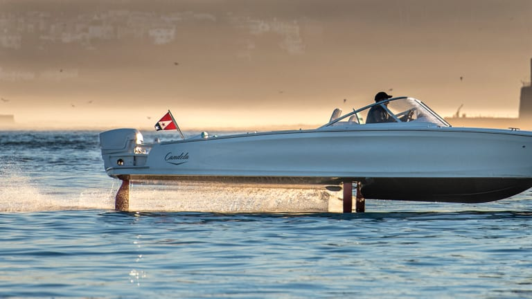 Candela Seven Fully Electric Foiling Powerboat
