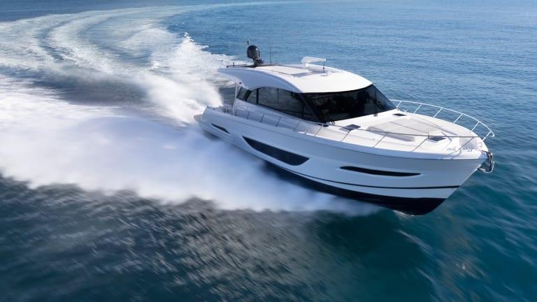 New Boat: Maritimo S55