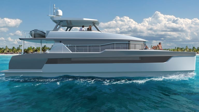 Drawing Board: Two Oceans 555 Power Cat