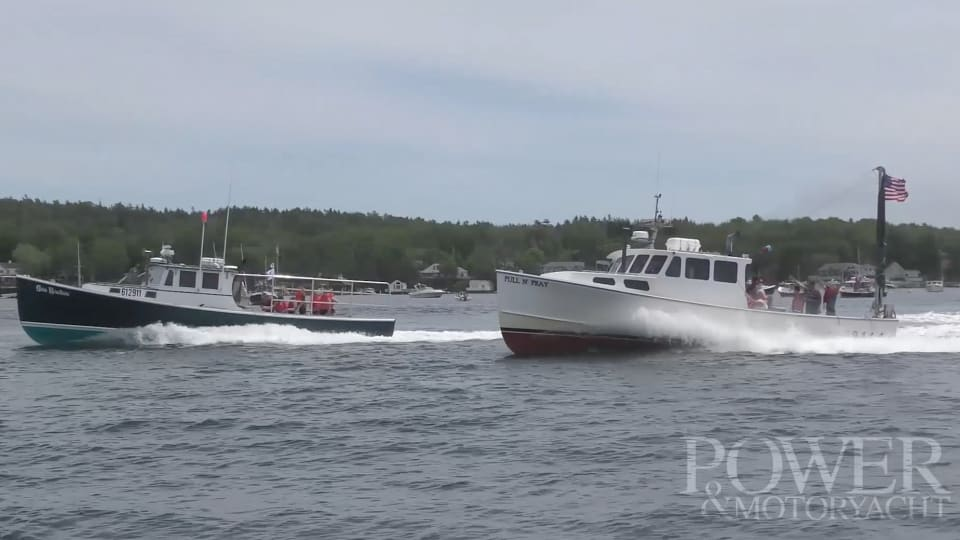 Wild, Wild Ride - Maine Lobster Boat Races