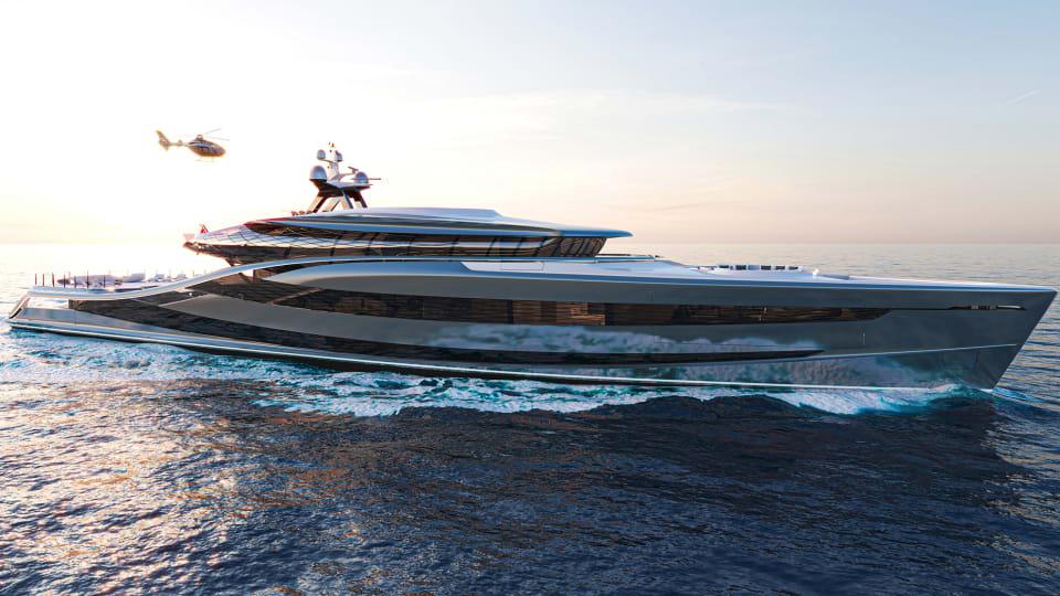Green Energy on Vripack's Concept Superyacht