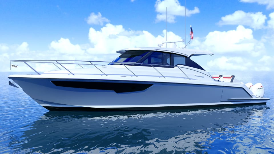 Drawing Board: Tiara Sport 43 LE