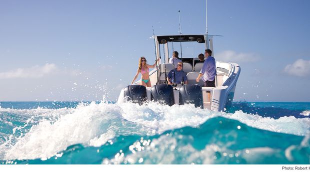 Millennials boating