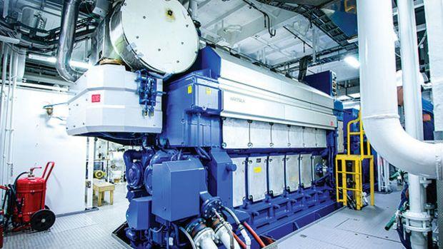 Harvey Energy - engine room