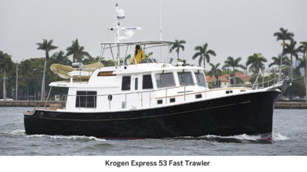 Krogen Express 53 Fast Trawler