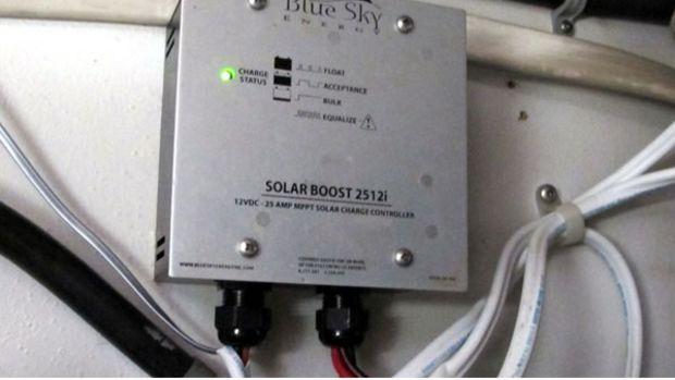Blue Sky Energy solar panel