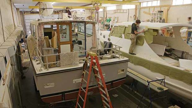 Wilbur Yachts' customers include Billy Joel, Woods Hole, and even the Smithsonian.