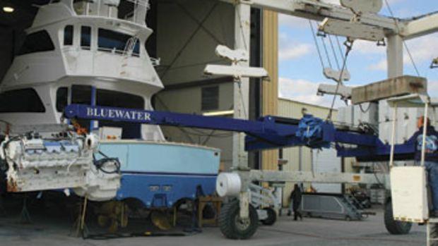 Bluewater Yacht Yard, in Hampton, Virginia