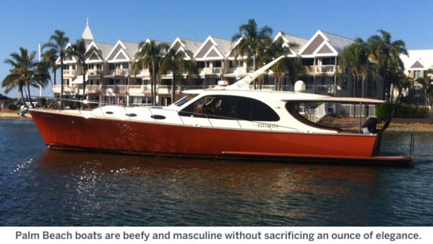 Palm Beach 55 - Palm Beach boats are beefy and masculine without sacrificing an ounce of elegance.