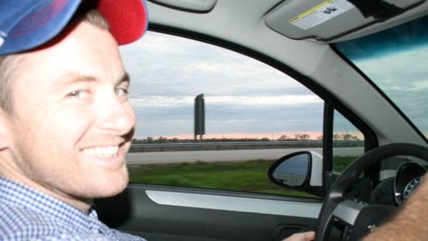 Kevin Koenig, photo by Capt. Bill Pike