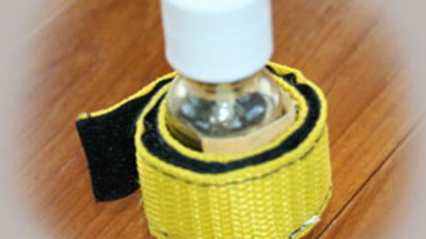 Homemade varnish first aid kit