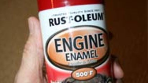 Rustoleum engine enamel
