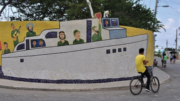 Mural of Granma