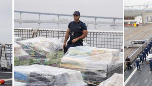USCG cocaine offload