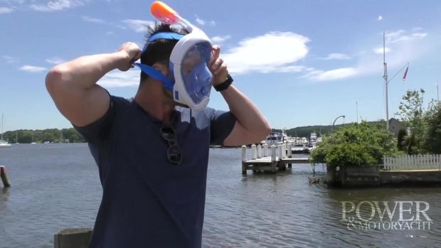 PMY Tested: Tribord Diving's Easybreath Snorkeling mask