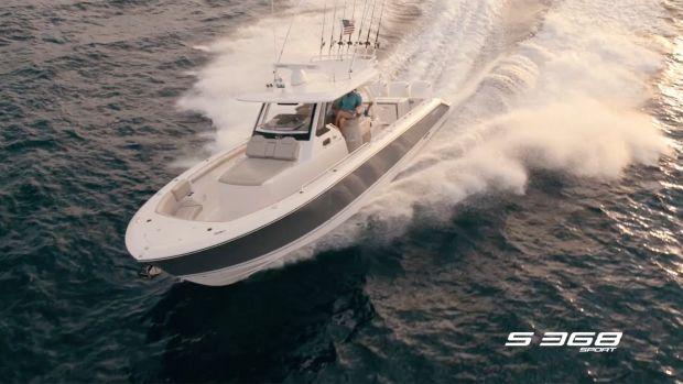 Pursuit S 368 Sport