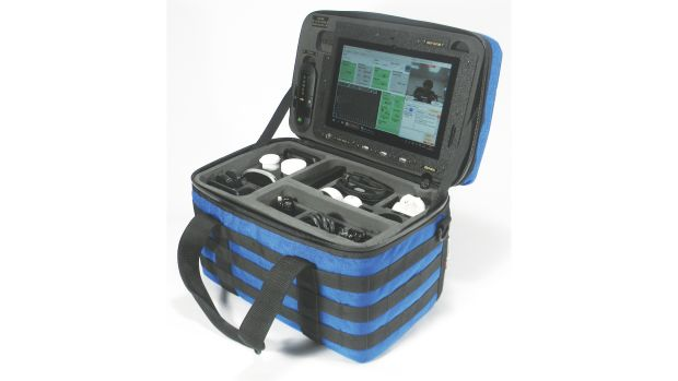 The digiMed kit comes with multiple power options.