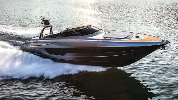 A top speed of 37-plus knots is only part of the performance equation for the Riva Rivale 56. Handling helps set this boat apart.