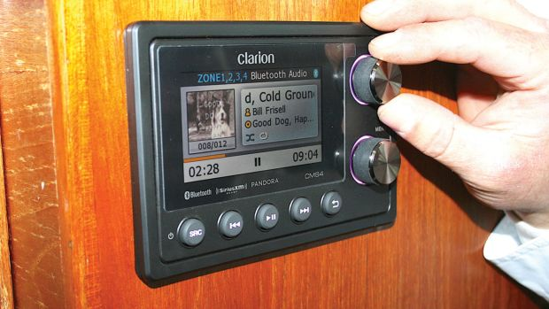 Clarion marine stereo