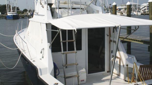 cockpit awning