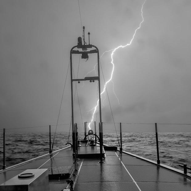 Photograph by Steve Dashew