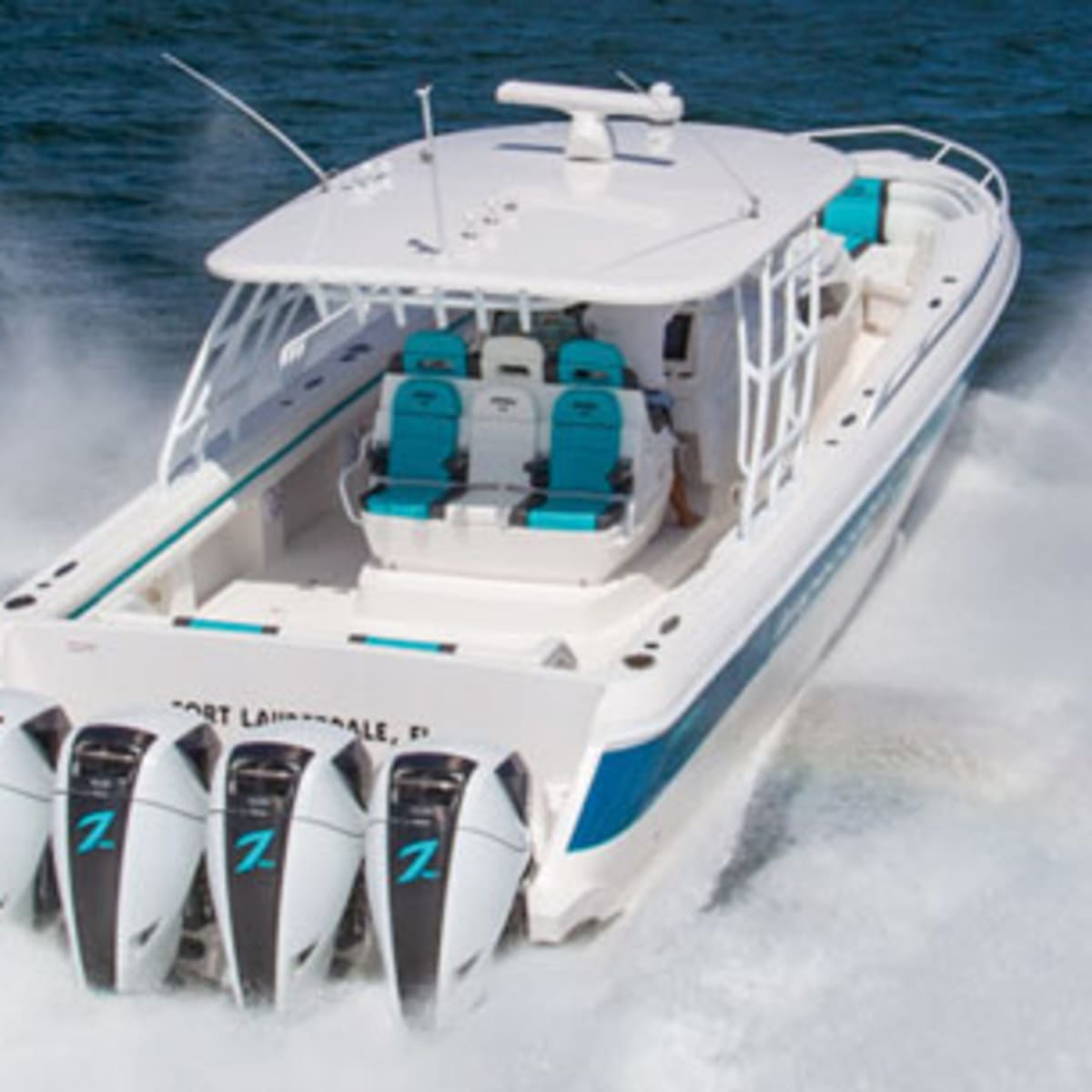 Outboard Engines On Big Boats Power Motoryacht