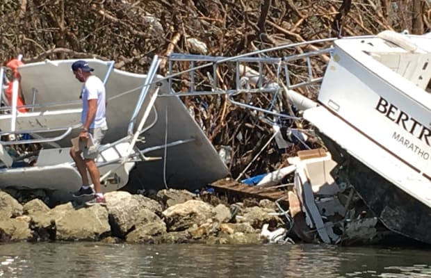 Special Report: Embedded with a Boat US Catastrophe Team