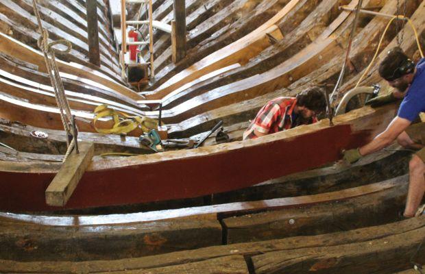 Restoring the Mayflower II