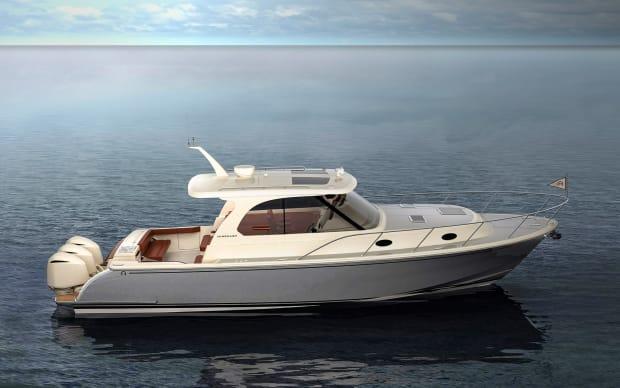 The Hinckley Sport Boat_Water