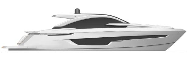 Targa 63 GTO Side Profile
