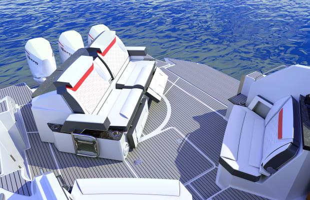 Aft Cockpit Terrace Down