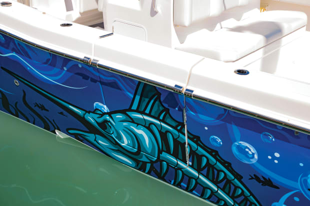 All About Vinyl Wrapping Your Boat - Power & Motoryacht