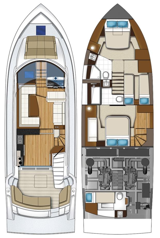 Carver C52 Command Bridge Power Motoryacht