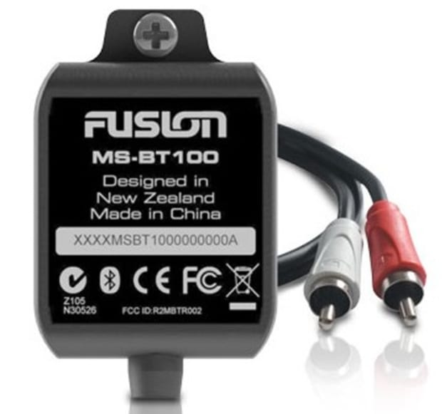 Fusion Marine Stereo 2013, great but confusing! - Power ... on