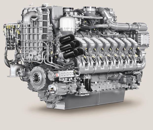 MTU Model 4000 M53 M63 Power Motoryacht
