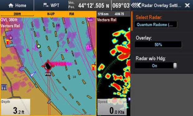 Testing Raymarine Quantum Q24 radar, solid on many levels - Power