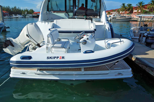 """Snap Davits for inflatable boat /& swim platform w Quick release kit Extended 2/"""""""