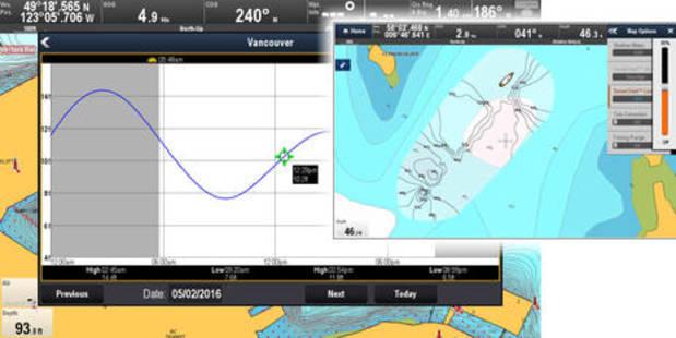Raymarine LightHouse R17 part 2: hands-on Navionics Dock-to