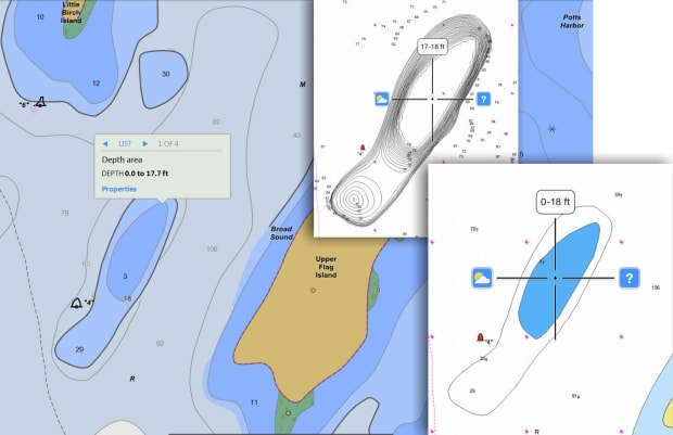 Computer-assisted groundings? Bad Navionics charts? - Power