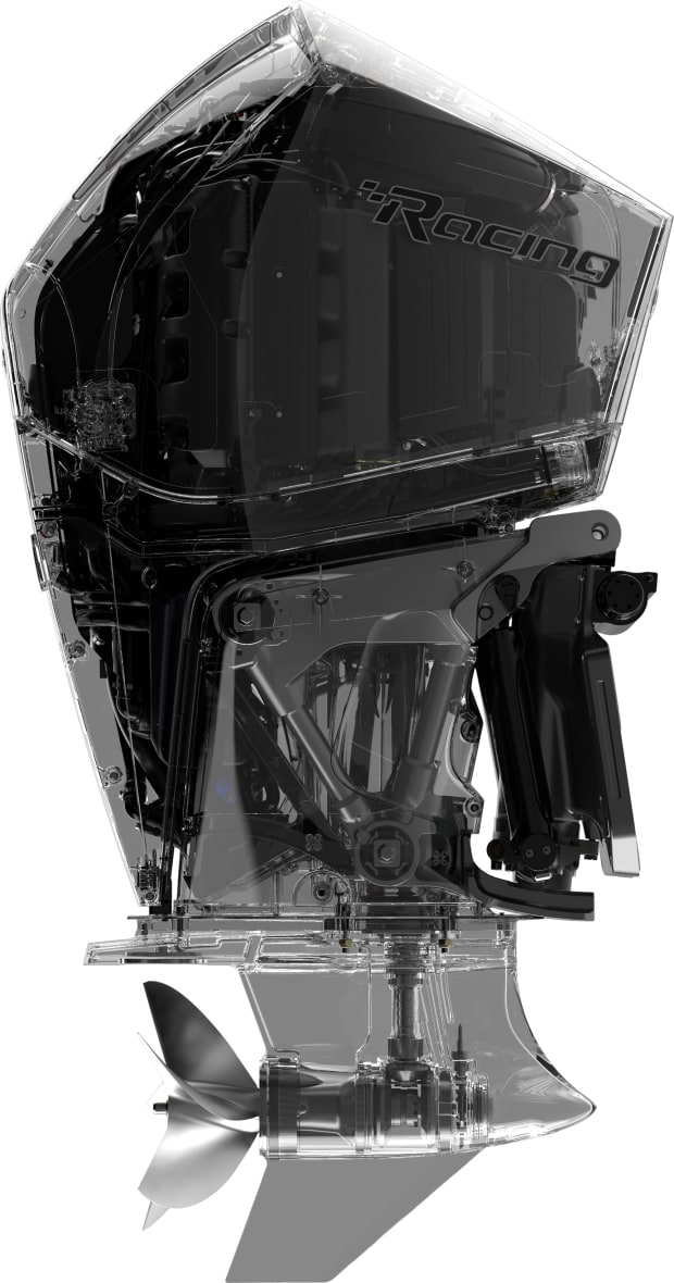 Review: Mercury Racing Debuts 450-hp Outboard - Power & Motoryacht