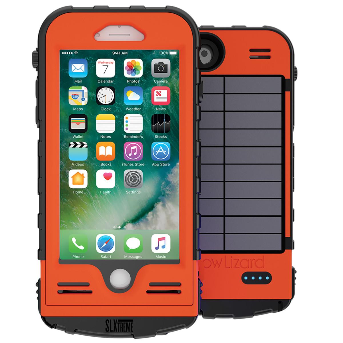 Snowlizard iPhone case