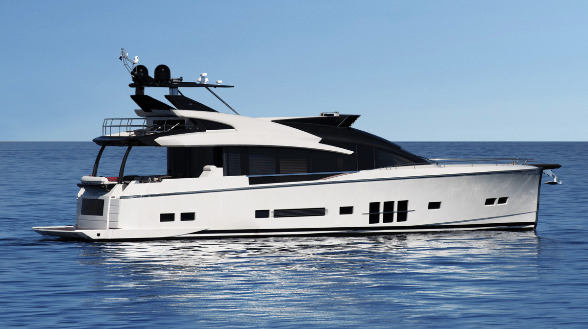 A distinctive shape and black and white exterior set the Adler apart, but the feature that makes her a true original is hybrid propulsion.