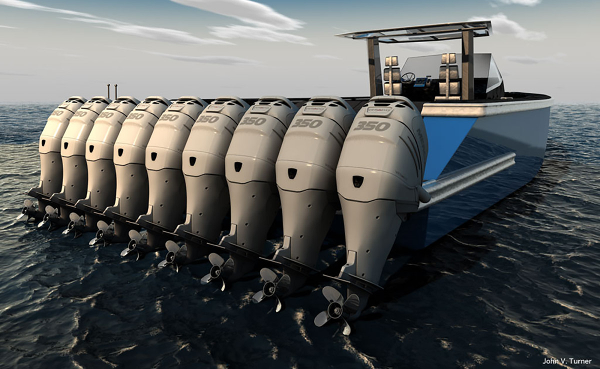 Is there really such a thing as too many outboards?