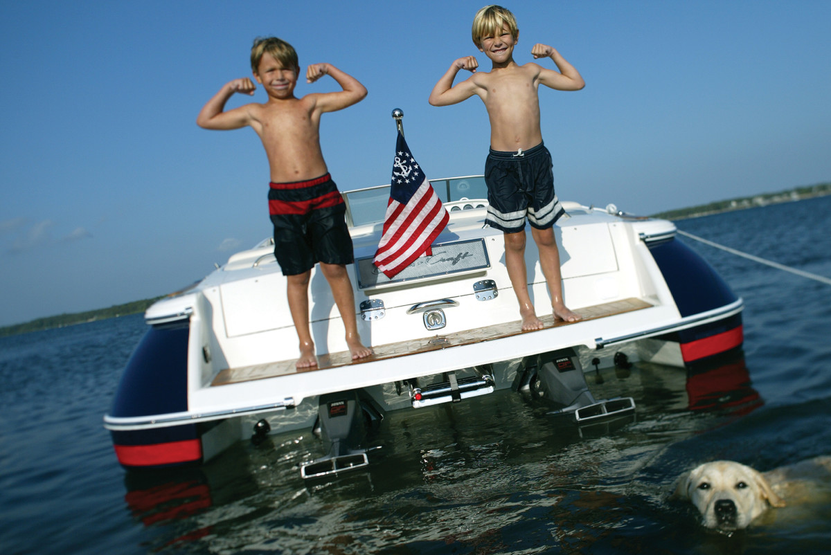 When it comes down to it, Chris-Craft has built a legacy of getting families out on the water