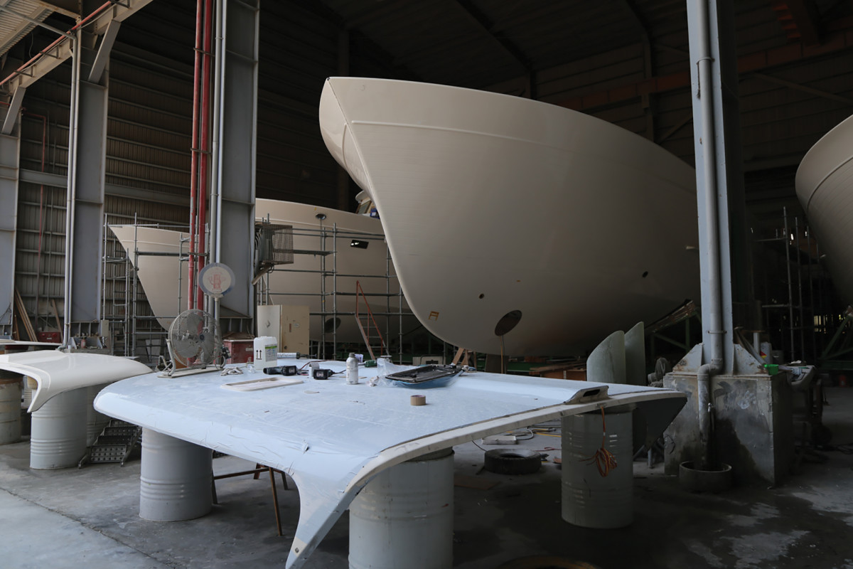 Yacht Building in Taiwan