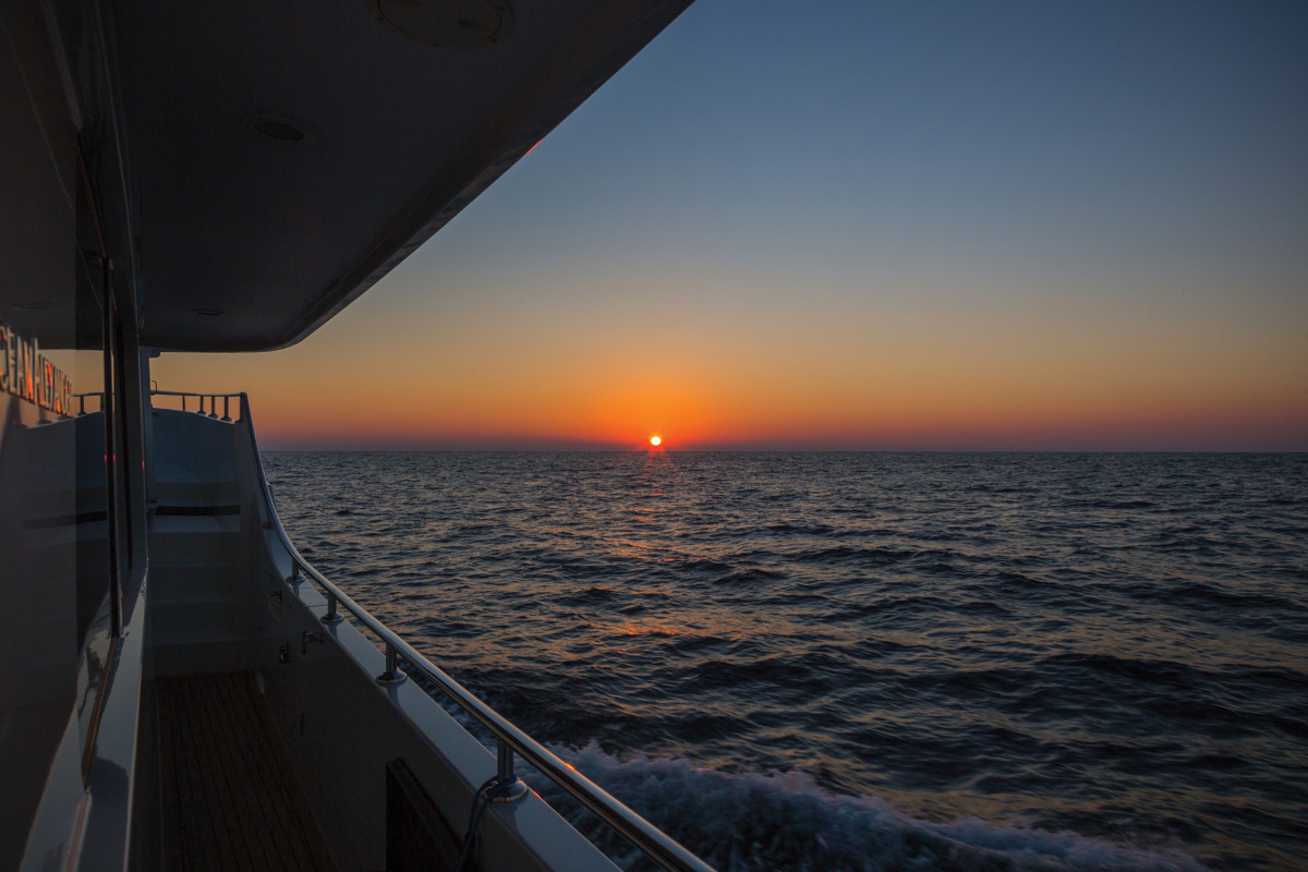 A sunset shouldn't be cause for alarm. Night cruising can be incredibly rewarding, and necessary.