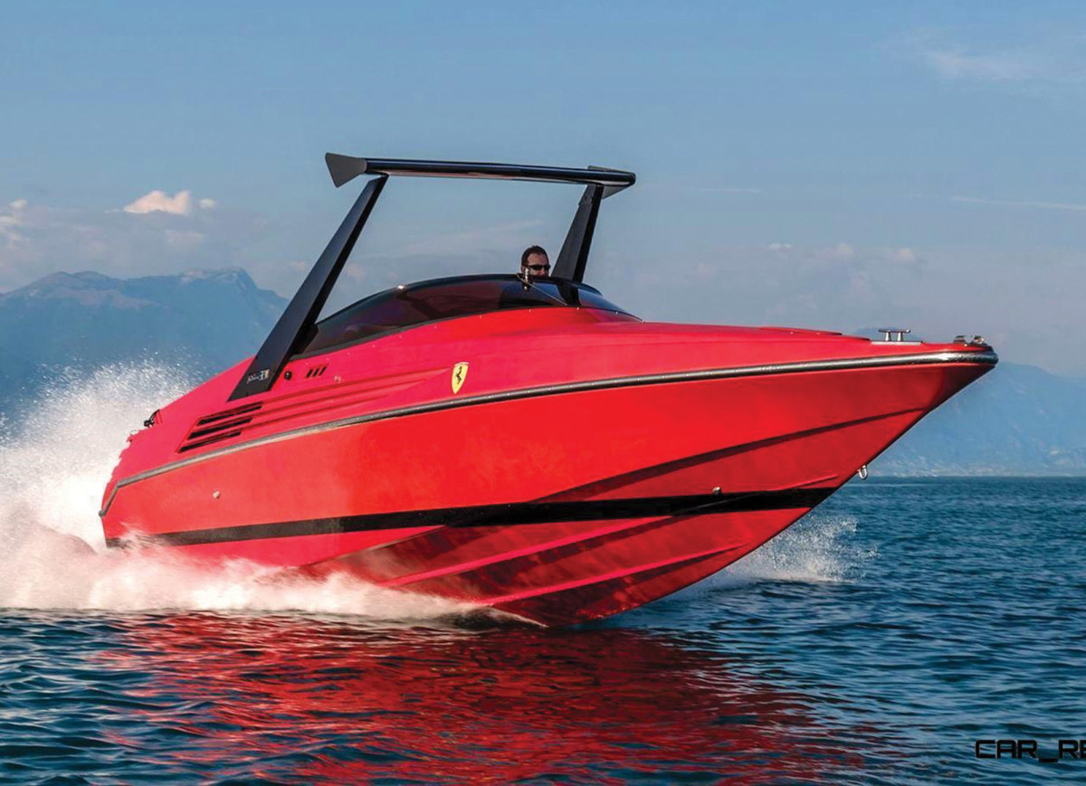 Launched in 1990, the Riva Ferrari 32 has become a collector's dream.